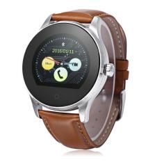 Harga K88H Bluetooth 4 Jam Pintar Untuk Android Dan Ios Coklat Baru