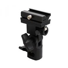 Kaavie Senter/Sepatu Panas/Tempat Payung dengan Putar/Braket Miring untuk Nikon dan Canon E430 E580 SB600 SB800 SB900- internasional