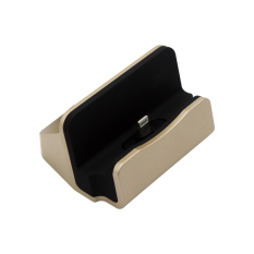 Kabel & Docking Station Charger Cradle Charging Sync Dock For Samsung, LG, HTC, SKY ETC - Gold