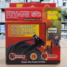 Harga Kabel Antena Kitani 5C Plug 15 Meter Satu Set