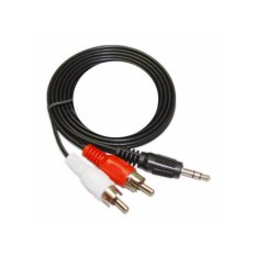 Kabel Audio 3.5 3.5mm Male to RCA Aux Cable 1.5m - CBL-AV35M2RCAM-150