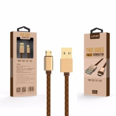 Harga Kabel Charger Data Usb Two Sides Ldnio Ls25 For Android Fast Charge Baru