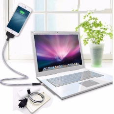 Kabel Data Charger Flexible Standup Docking Cable -  Lightning Iphone