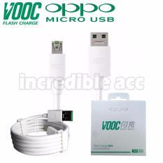 Kabel Data Kabel Charging OPPO VOOC Kabel Data Fast Charging Original - Putih