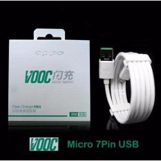 Kabel Data OPPO VOOC 7 Pin Micro USB - Original