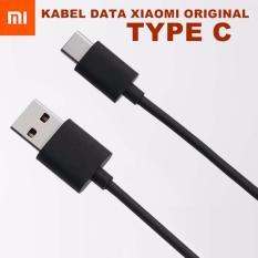 Kabel Data Xiaomi Type C Original for Mi 4C / Mi 5 / Mi Pad 2 - Hitam