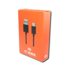 Kabel Data Xiaomi Type C Original for Mi 4C / Mi 5 / Mi Pad 2 - Hitam