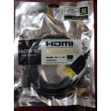 Harga Kabel Hdmi Sony 3M Gold High Speed Max 4K Merk Sony