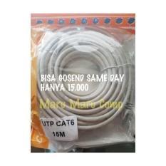 Pusat Jual Beli Kabel Lan Kabel Internet Kabel Utp Cat6 20 Meter Dengan Rj 45 Indonesia