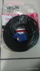 Kabel Vga 10M Gold Plated HQ Netline Kabel Vga 10 Meter