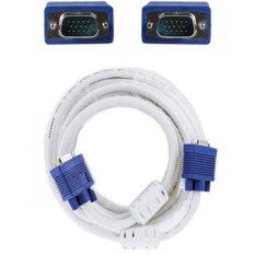 Kabel VGA High Quality Putih 10m - Putih