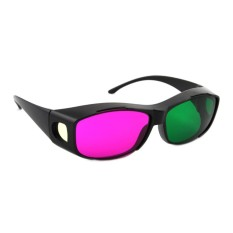 Review Toko Kacamata 3D 4D Nvidia Vision Green Magenta Best Seller