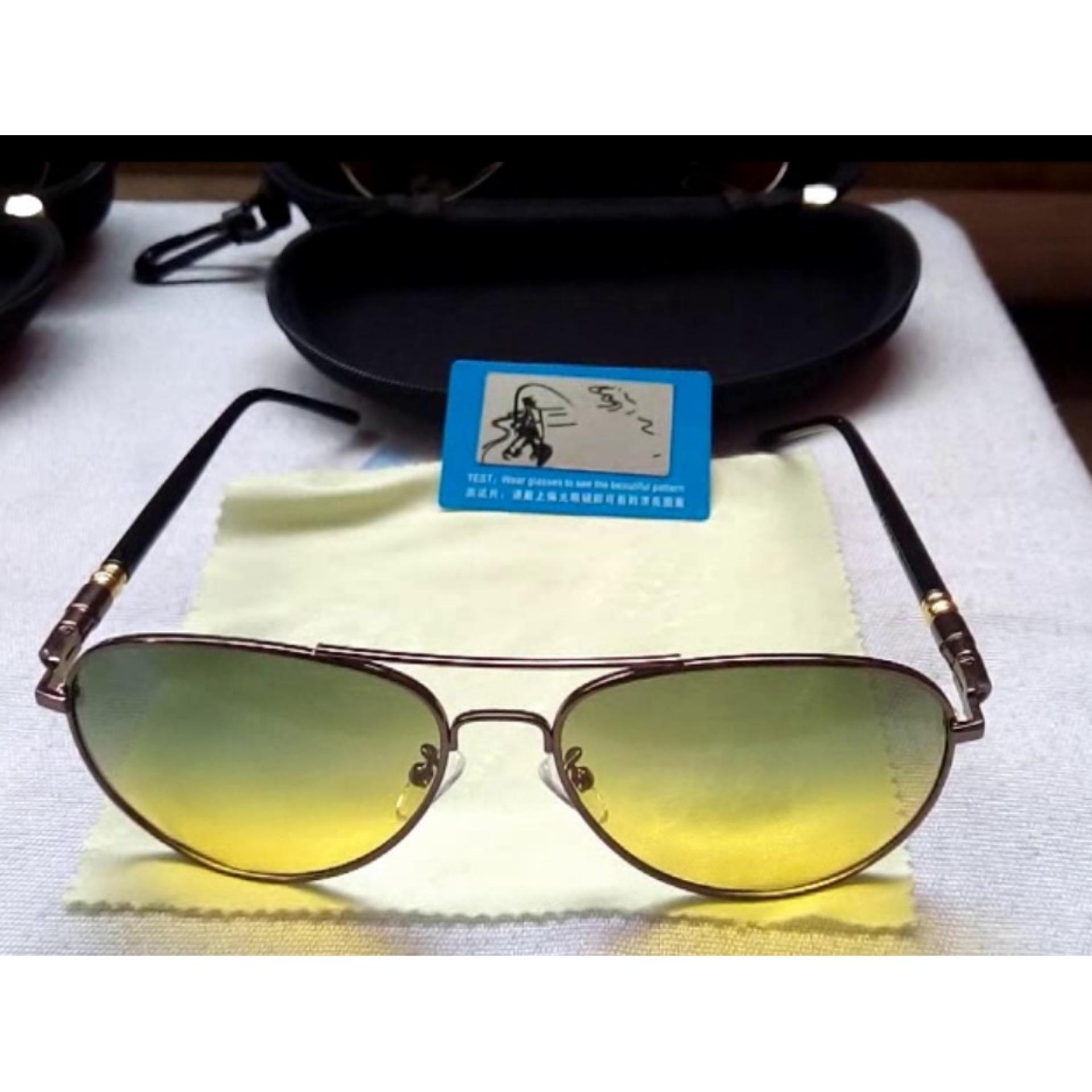 Review Tentang Kacamata Aviator Hd Polarized Anti Silau Siang Malam