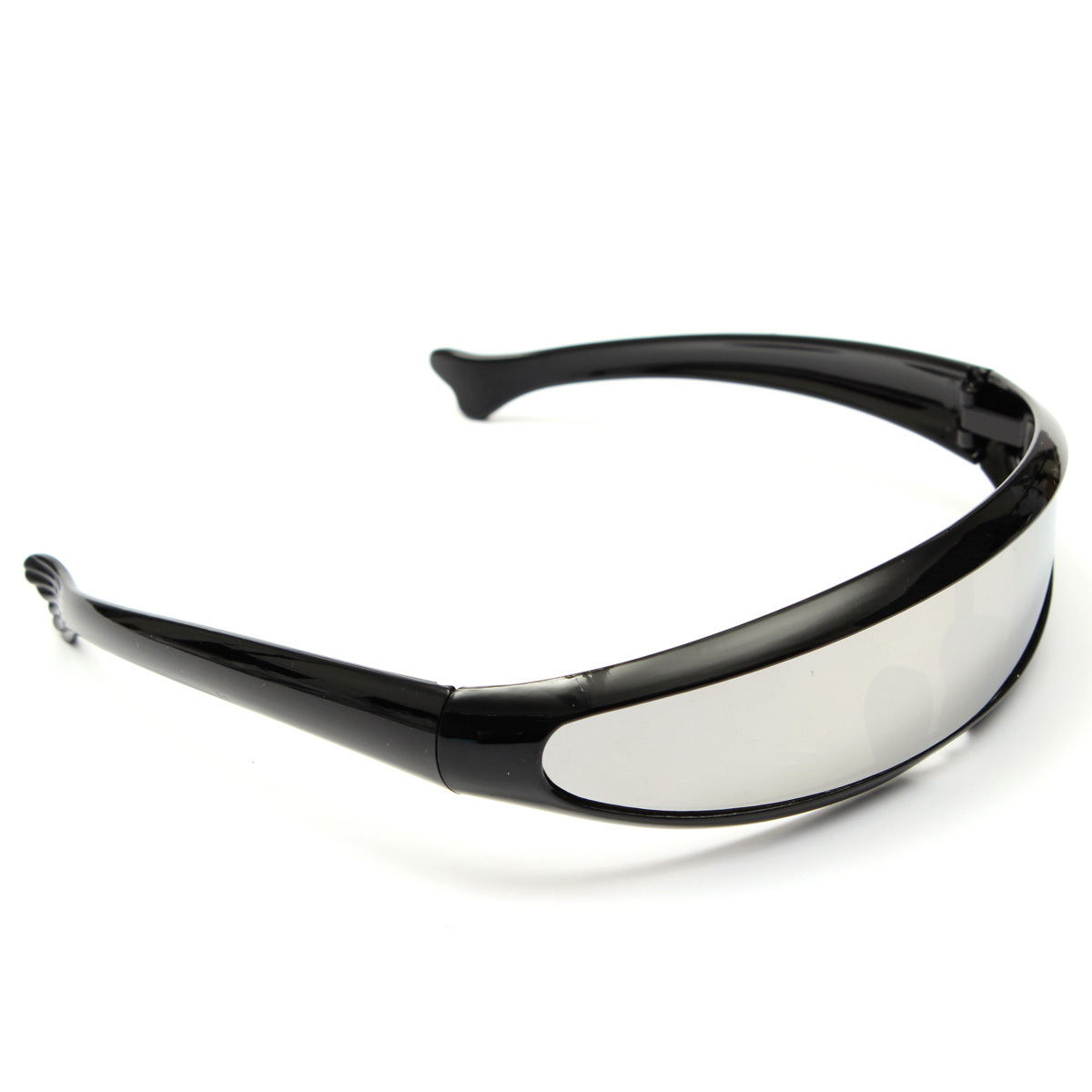 Beli Kacamata Hitam Bermata Sunnies Cermin Ruang Gelap Robot Perisai Kostum Makhluk Asing