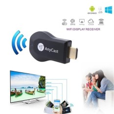 Kado Unik-- Dongle HDMI - Anycast Dongle HDMI Wifi Display Receiver TV / Alat penampil gambar HP android ke layar TV / HDMI Dongle Wifi Display / Anycast Miracast Wifi / Wireless HDMI Dongle Anycast