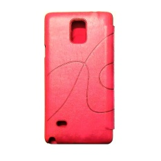 Kalaideng Oscar II Leather Case Flip Cover Samsung Galaxy Note 4 N9100 – Pink