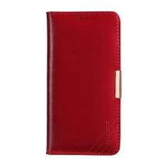 KALAIDENG Royal II Dompet Kulit Asli Cover untuk Samsung Galaxy S8 Plus G955-Merah-Intl