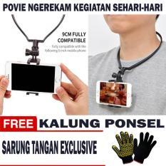 Jual Kalung Ponsel Point Of View Povie Tongsis Leher Kalung Handphone Hp Sarung Tangan Exclusive Murah Dki Jakarta