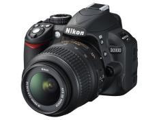Kamera DSLR Nikon D3100 KIT 18 - 55 MM VR II  14.2 MP Optical Zoom