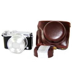Harga Kamera Kulit Pu Penutup Tas With Tali For J5 Kopi Termahal