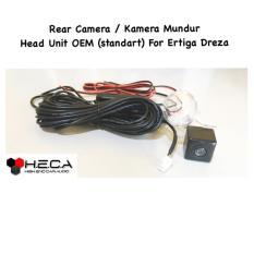 Kamera Mundur Parkir / Rear Camera Parking For Head Unit Double Din Tape OEM Standart ERTIGA DREZA + Soket
