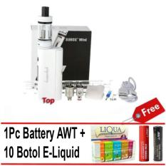 Toko Kangertech Subox Mini Starter Kit Rokok Electric Vapor Vape Kanger Tech Subtank Pro Mod Vaporizer Awt Battery 10 Pcs E Liquid White Di Banten