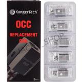 Beli Kangertech Vertical Occ Coil 1 2 Ohm Heads 5 Pcs Pack Silver Js Asli