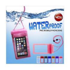 Kantong Handphone Anti Air / Tas HP Tahan Air Waterproof Case Up To 5,5