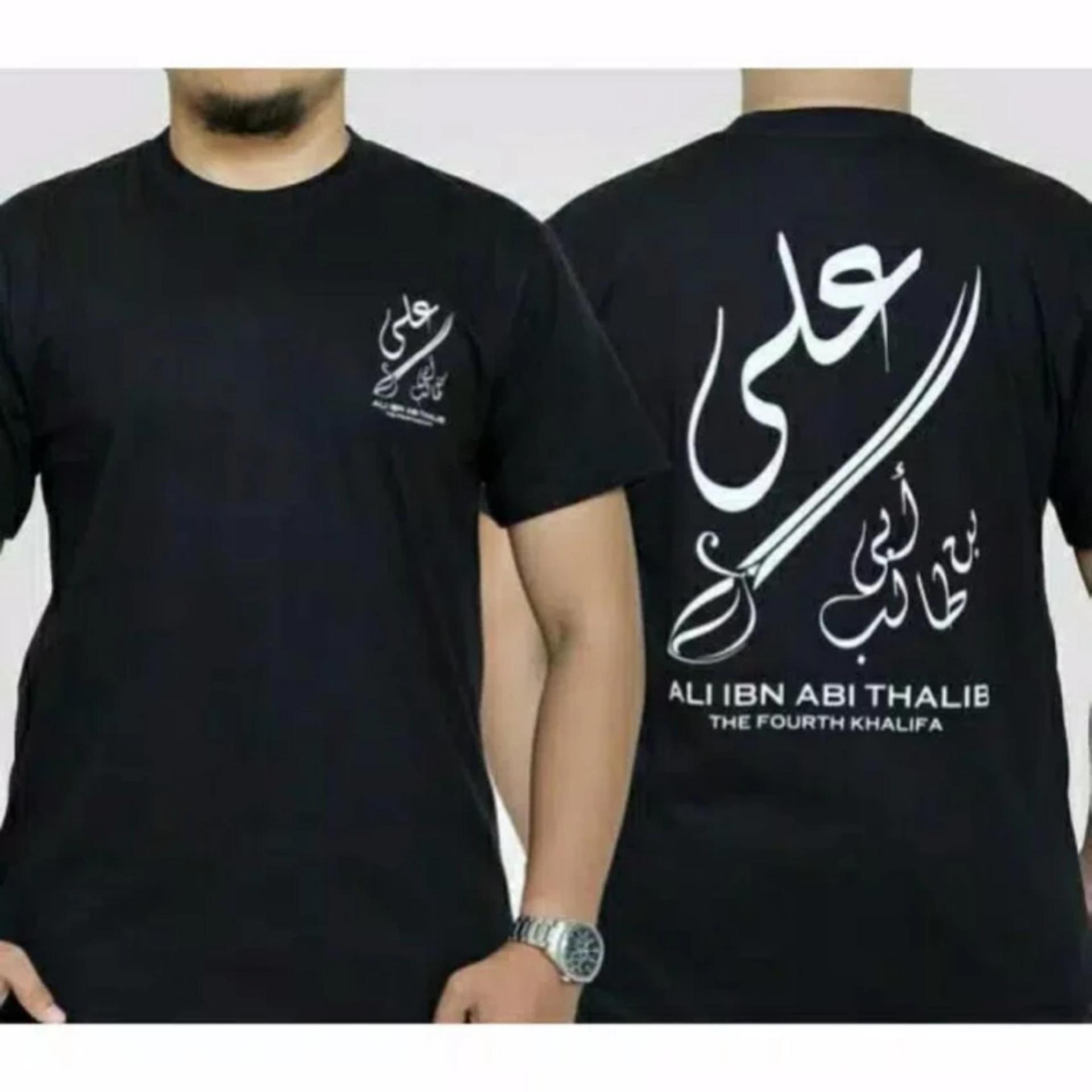 Spek Kaos Ali Ibn Abi Thalib Hitam One Tshirt