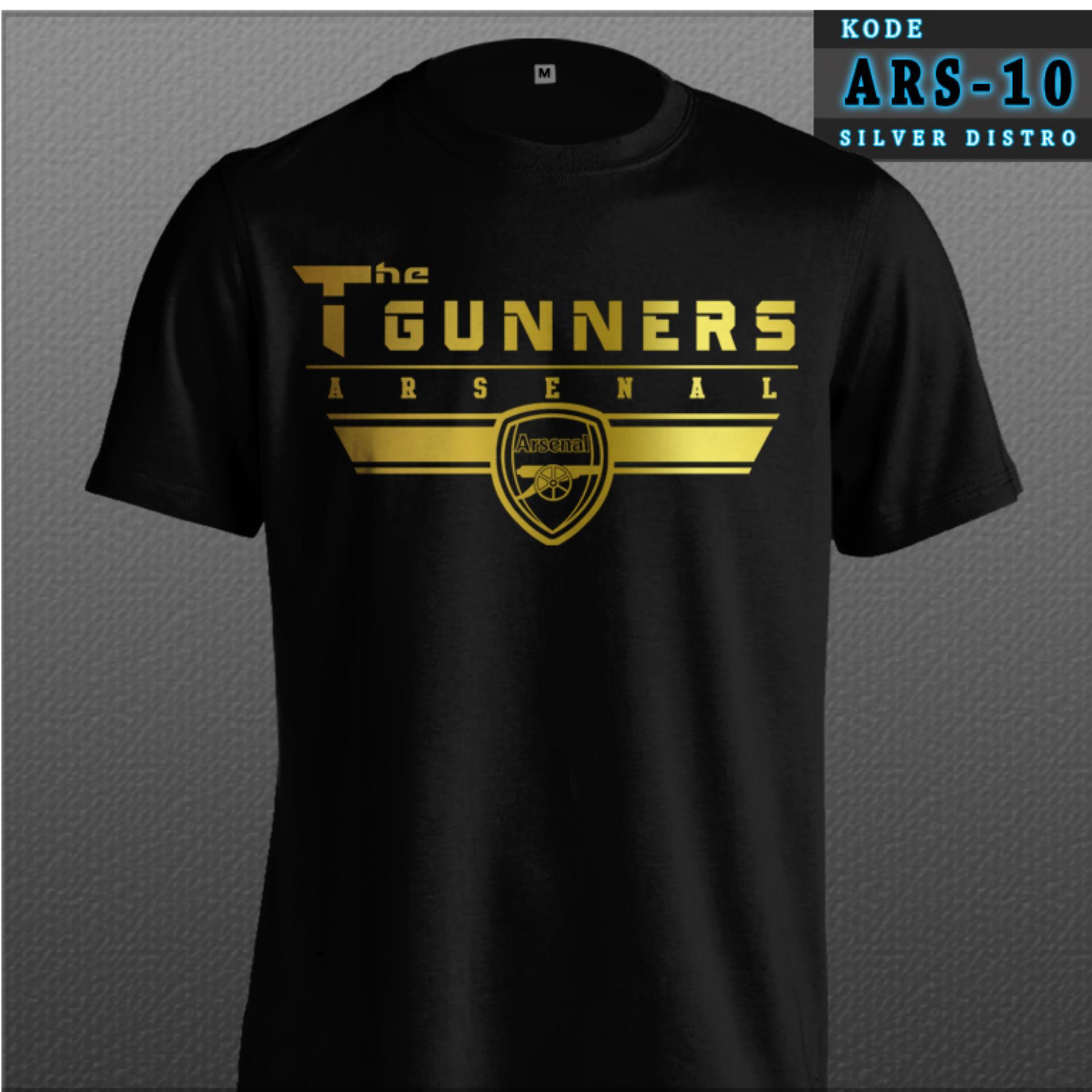 Kaos Arsenal Kode ARS-10 The Gunners Arsenal