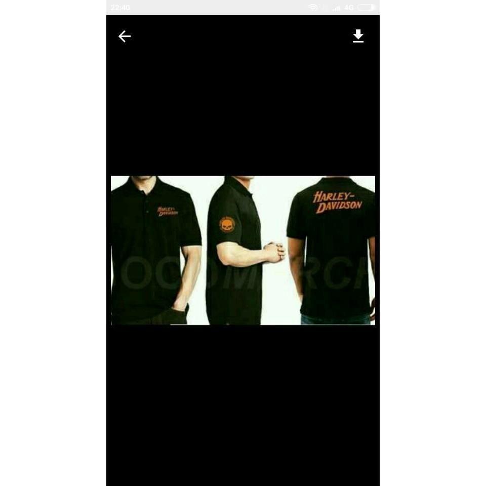 Toko Kaos Kerah Polo Shirt Baju Pria Harley Davidson Online