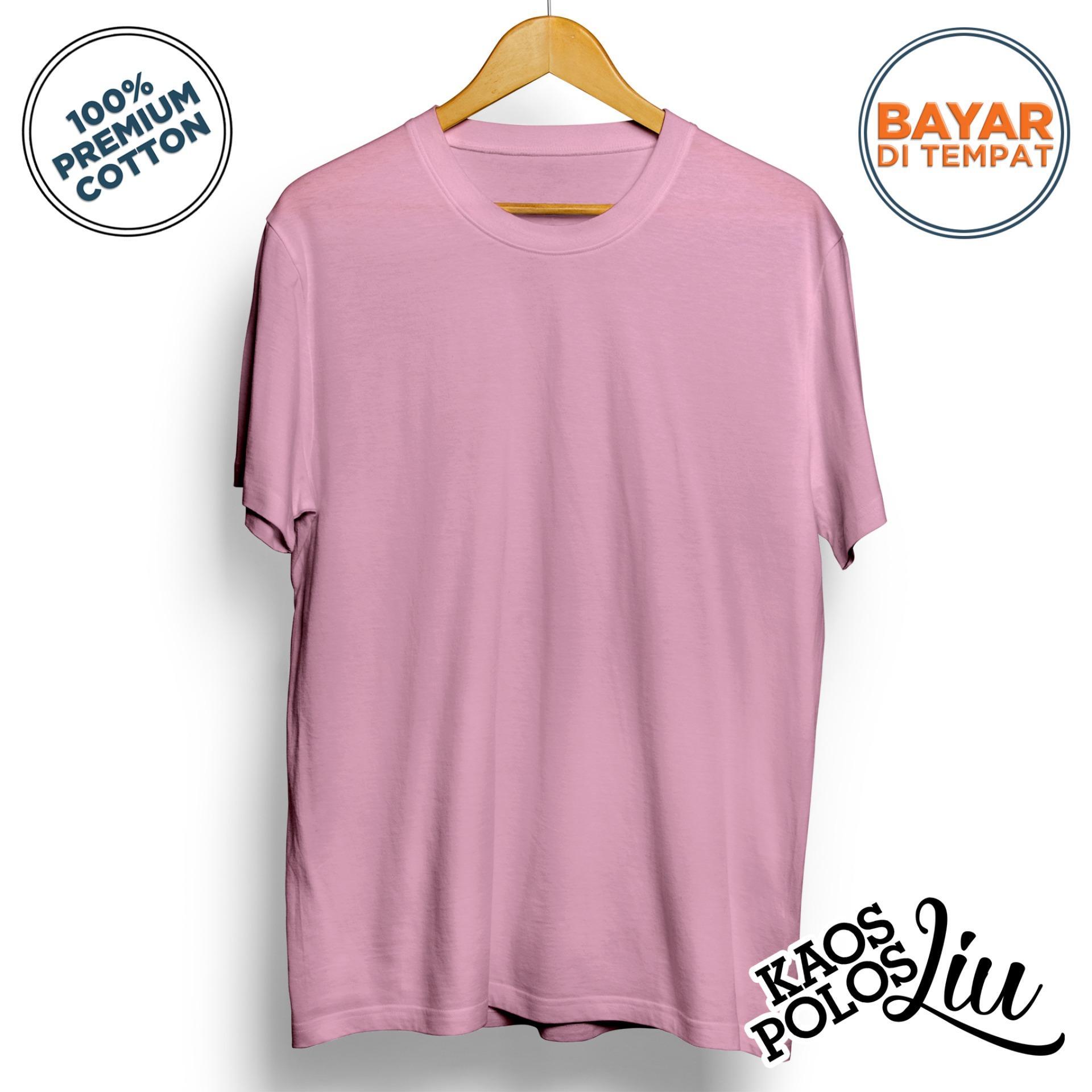 Jual Produk Kaos Polos Online Terbaru Di Pria Katun Combed 30s Lengan Panjang Warna Merah Marun