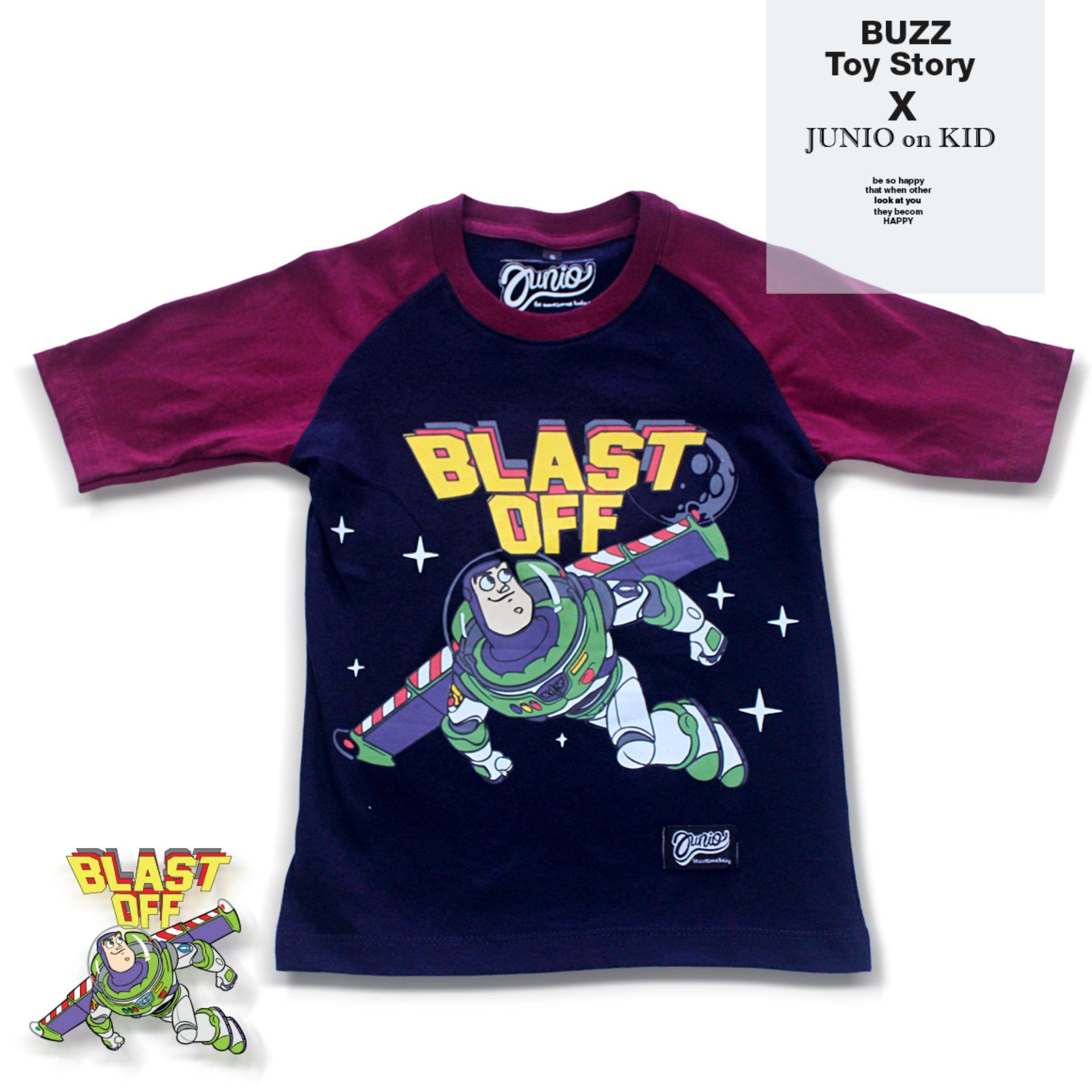 Kaos Raglan Buzz Lightyear by Junio onkid