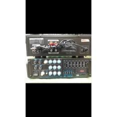Karaoke Amplifier ty 555 bluetooth bluetoot wireless wireles Mixer USB SD Card MP3 Digital Player BONUS GRATIS ONGKIR