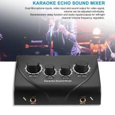 Karaoke Sound Mixer Professional Audio System Machine Portable Mini Digital Black - intl