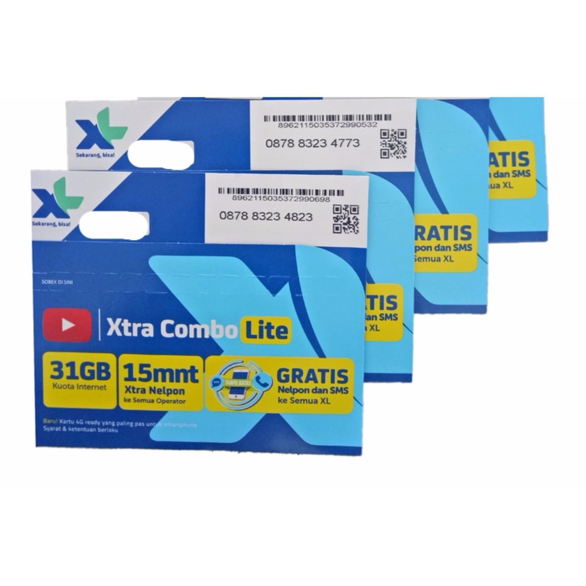 Review Kartu Perdana Internet Xl 31Gb Xl Combo Xtra