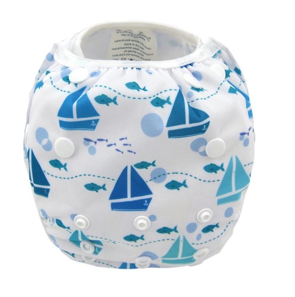 Kartun Digital Printing Celana Renang Washable Soft Cloth Diaper Untuk Bayi Bayi Dari 7 Sampai 33 Kilogram Ys Intl Oem Diskon 50