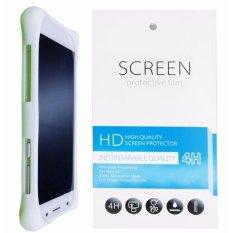 Kasing Silikon Universal Bumper Case Wadah Cover Casing - Putih + Gratis 1 Clear Screen Protector u