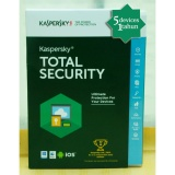 Jual Kaspersky Total Security Kts Pure 2018 5 Pc 1 Tahun Branded