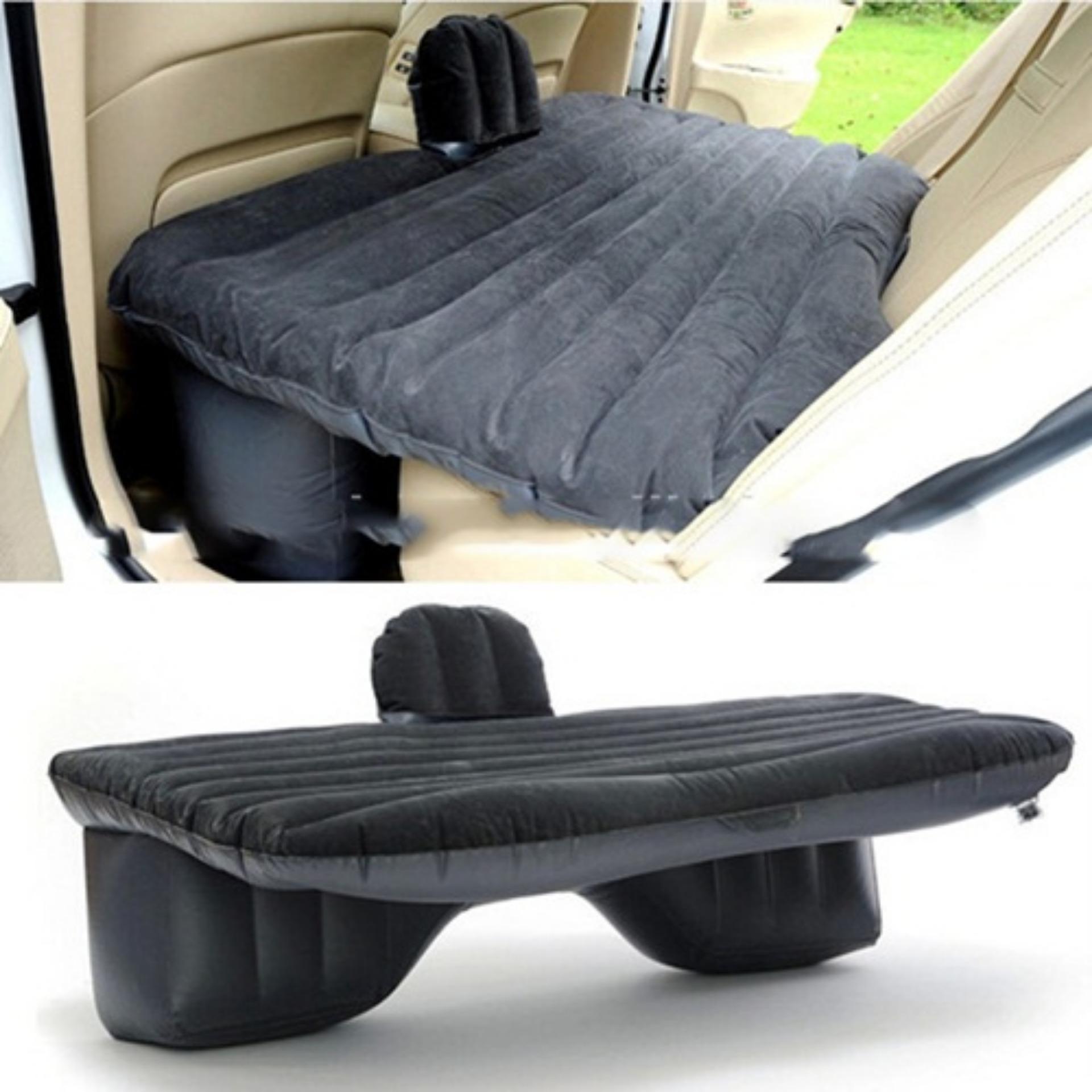 Kasur Matras Angin Mobil untuk Travel Inflatable Smart Car Bed - Black