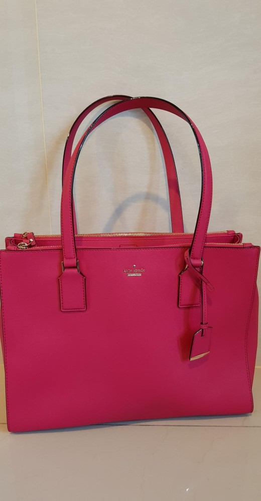 Kate Spade Bag - Cameron Street - Jensen - Punch - Pink color b9a03bcbe5