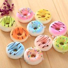 Jual Kawaii Mini Cute Manis Donut Licin Ponsel Pendent Menggantung Drop Antik