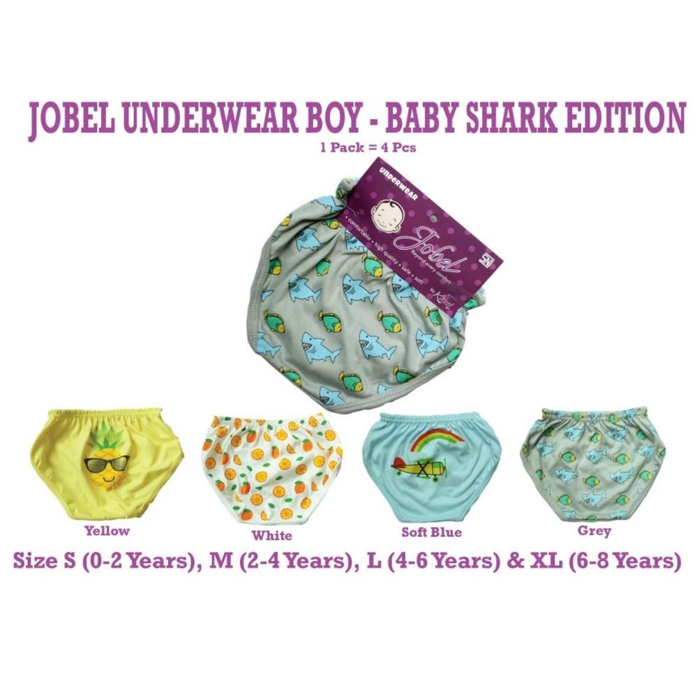 Beli Kazel Jobel Boy S Underwear Baby Shark Edition Celana Dalam Bayi 4In1 Terbaru