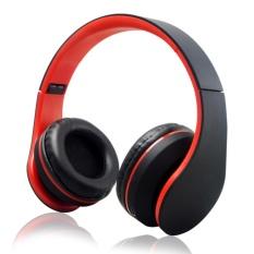 Review Pada Kbt K818 Stereo Nirkabel Bluetooth Loudspeaker Headphone Foldable Mic Mp3 Fm Tf Kartu Headset Untuk Smart Phone Tablet Over Ear Pria Earphone Intl
