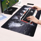 Cara Beli K Cmall Ukuran Besar Non Slip Dunia Peta Kecepatan Game Mouse Pad Gaming Tikar For Laptop Pc 70 Cm X 30 Cm