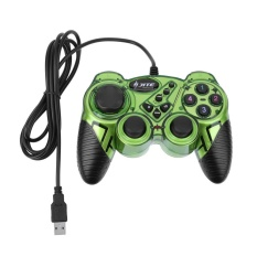 KD906 Creative Item USB Wired Game Controller Gamepad Joystick Joypad for A(Green) - intl