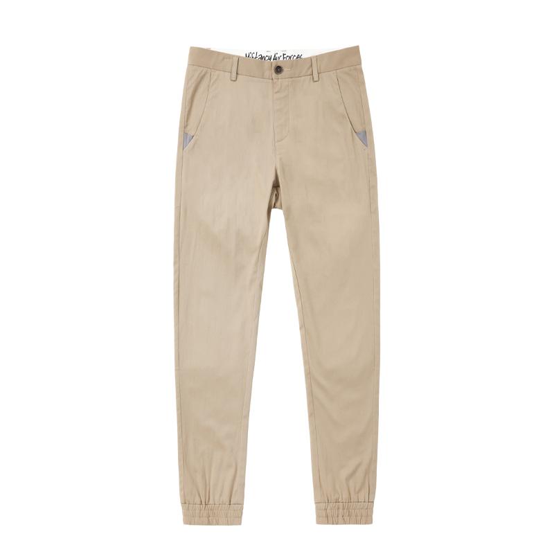 Kebugaran Karakter Biru Tua Pria Baru Celana Panjang Celana Cargo (Coklat Muda Warna 590)