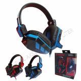 Diskon Keenion Headset Gaming Kos 8199 Biru Branded