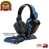 Review Keenion Headset Gaming Kos 8199 Blue Keenion