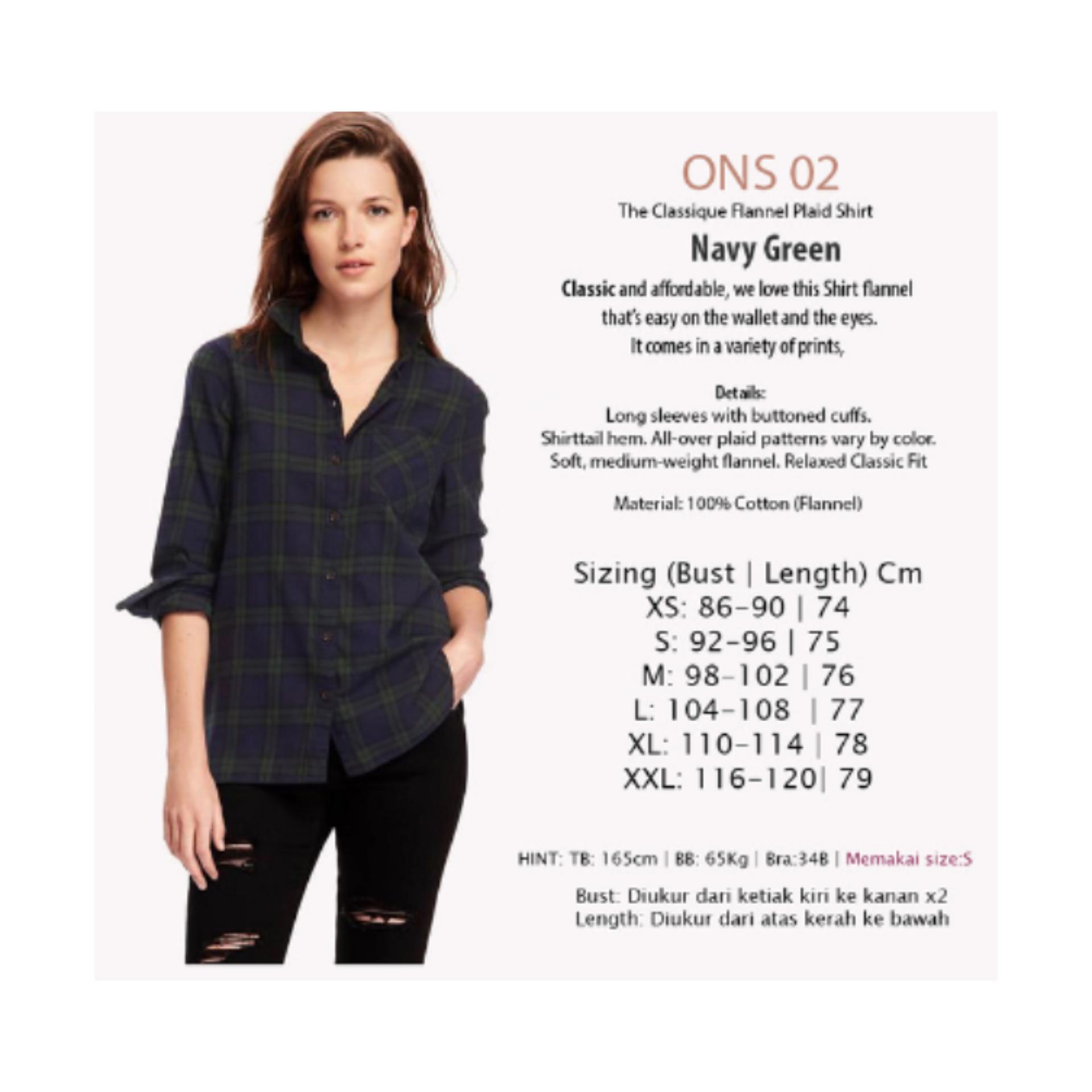 Rp Kemeja Wanita Baju Atasan